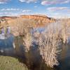Horsetooth Reservoir aerial landscape