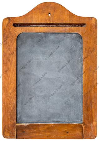 blank vintage blackboard