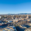 Fort Collins cityscape panorama