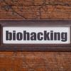 biohackin  tag - file cabinet label
