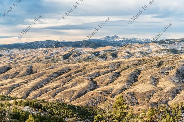 Longs Peak and Colorado foothills