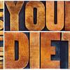 improve your diet typography