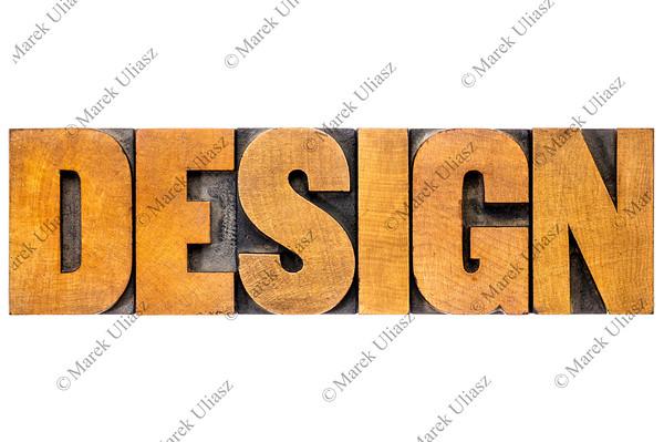 design word typography