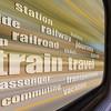train travel word cloud