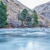 Cache la Poudre River in Rocky Mountains