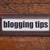 blogging tips label