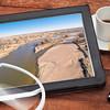 aerial landscape photography concept