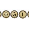 login word in typewriter keys