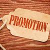promotion marketing concept