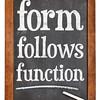 form follows function design principle