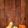 winter squash and barn wood