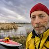 senior SUP paddler self portrait