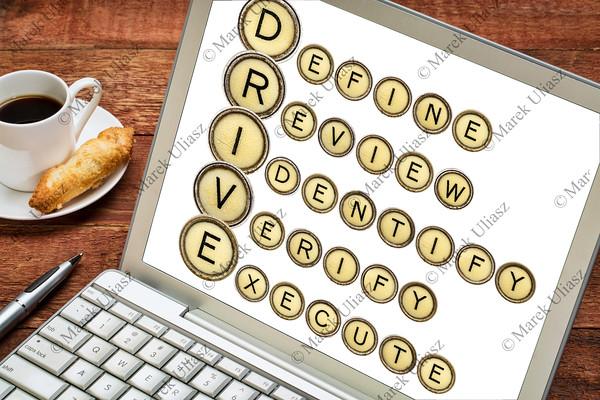 Define, Review, Identify, Verify, Execute - DRIVE