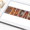 webcast word  on digital tablet