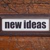 new ideas label