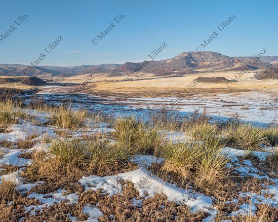 mountain ranch at Colorado foothills