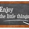 Enjoy little things on blackboard