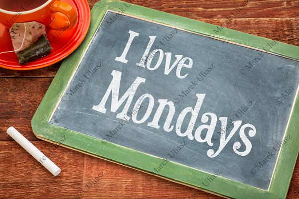 I love Mondays on blackboard