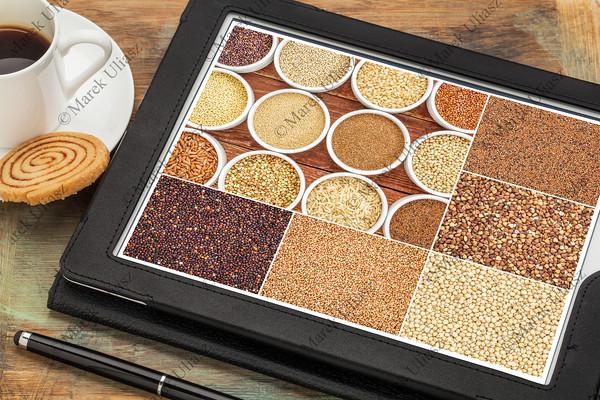 healthy gluten free alternative grains