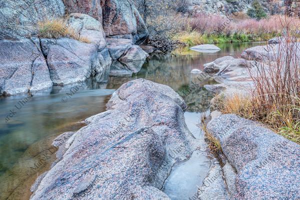 mountain stream in northern Colorado