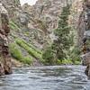 Rocky Mountains  river canyon