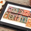 online datingon tablet