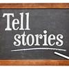 Tell stories advice on blackboard