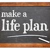Make a life plan - advice on blackboard