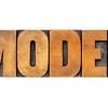 model word typography