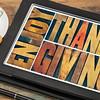 Enjoy Thanksgiving greeting card
