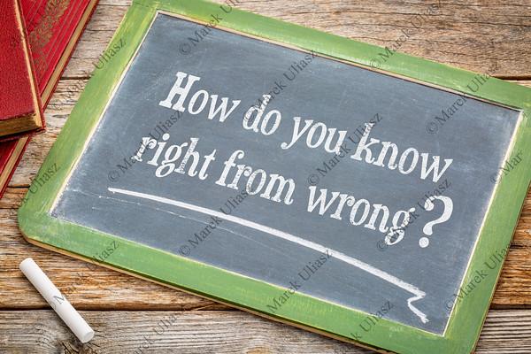 Ethics question on blackboard