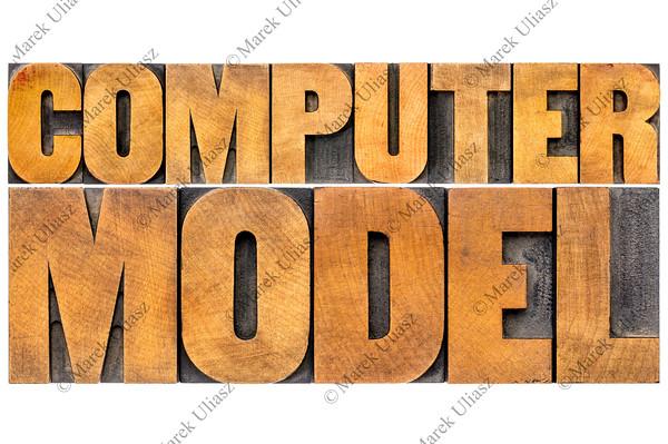 computer model typography