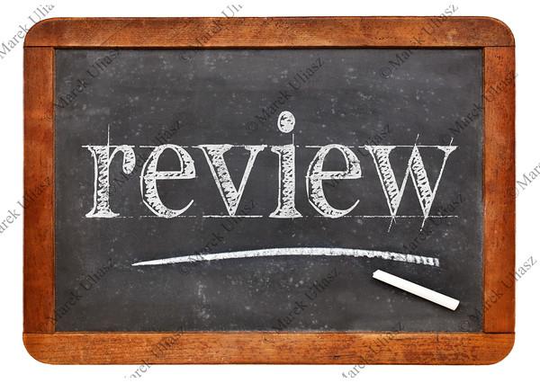 review word on blackboard