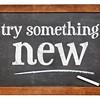 Try something new on blackboard