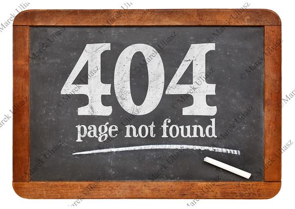 Page not fopund 404 error