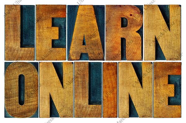learn online in letterpress wood type
