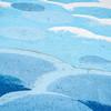 blue sky graffiti abstract