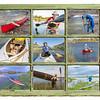 paddling vacation concept