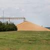 hard red winter wheat - big pile