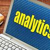 analytics concept on laptop