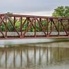 trestle on Katy Trail in Missouri