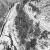 Poudre River Canyon aerial view