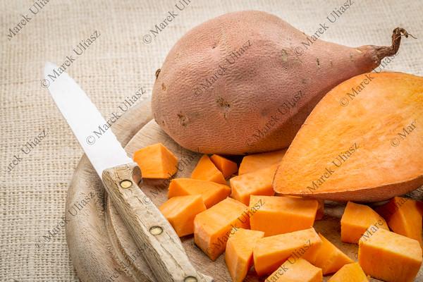 sweet potato diced
