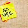 Go viral - sticky note