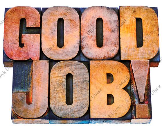 good job in letterpress wood type