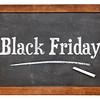 Black Friday blackboard sign