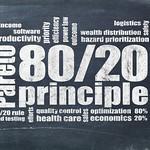 Pareto principle, eighty-twenty rule