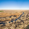 aerial view of eastern Colorado landscape