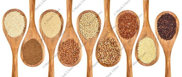 gluten free grain abstract