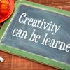 reativity can be learned on blackboard